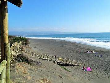 Playa El Monolito, Chanco